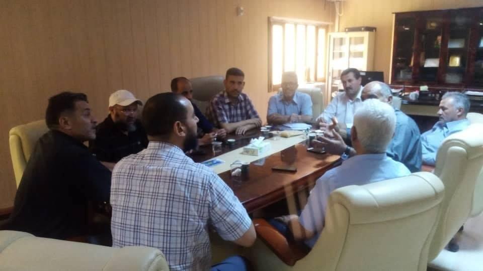 اجتماع المجلس البلدي غريان